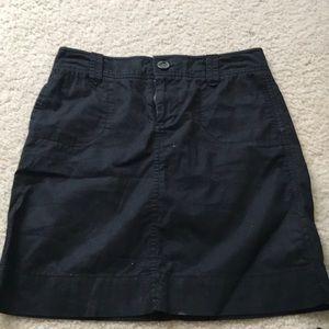 Black womens skirt size 0